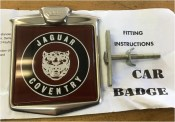 Car badge Jaguar